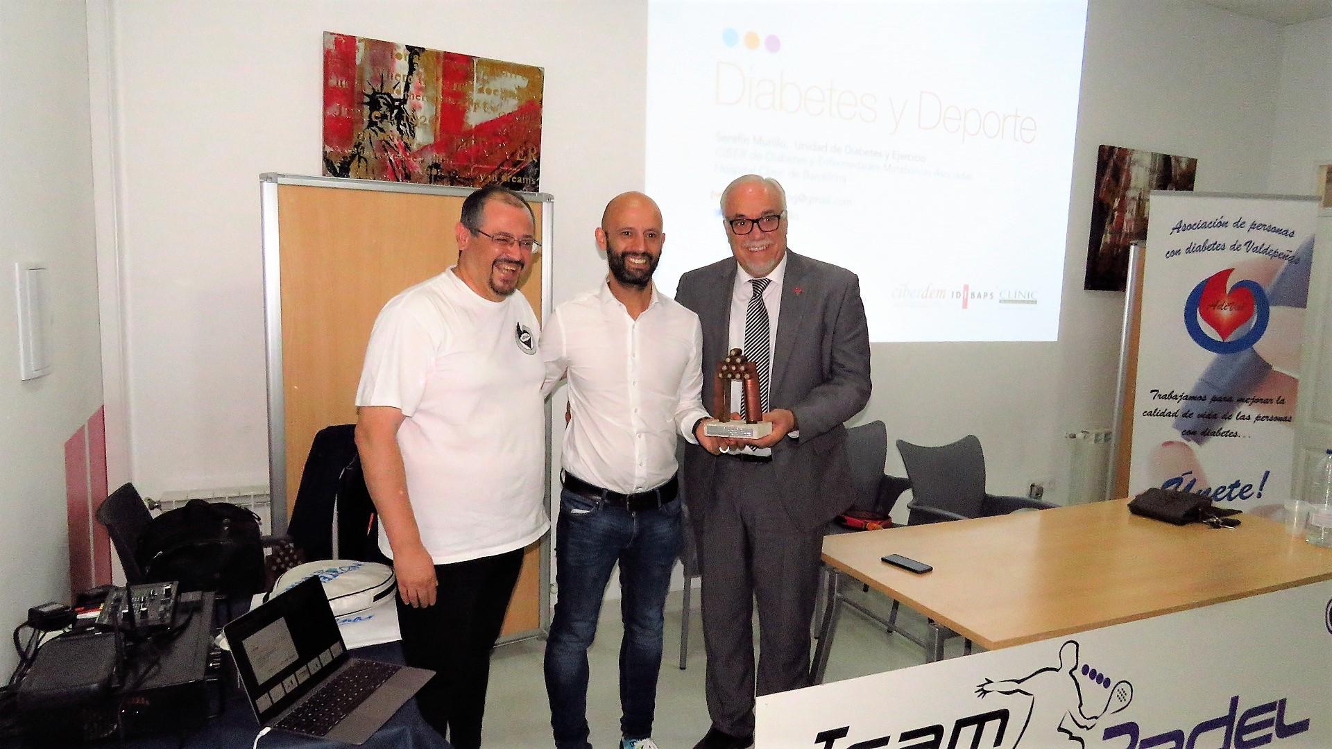 Team Pádel y Adival celebraron una jornada sobre deporte y diabetes
